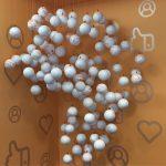 Africa internalcomms balls installation orange