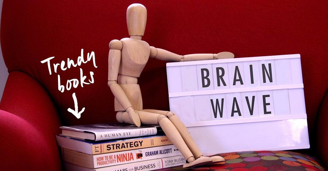 What are you #reading to stay #inspired? We have a great selection of #books in our library for clients and colleagues to share More info on the #Brainwave - see link in bio #conceptualeyes #edenvale #rightbrainboost